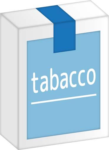 タバコのパッケージ