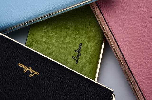 カラー財布